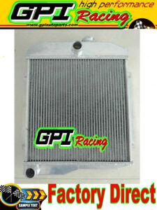 3ROW Aluminum radiator For JEEP 1955 - 1971  CJ5 CJ6 DJ5 DJ6 F4 908028 1961 59