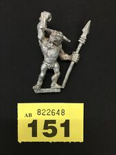 WARHAMMER AGE OF SIGMAR CHAOS REALM OF CHAOS MINOTAUR 1987 METAL OOP