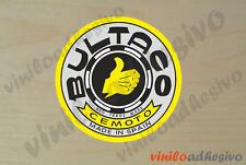 PEGATINA STICKER VINILO moto Bultaco ref3 insignia autocollant aufkleber adesivi