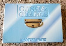 Cash & Change Discovery Toys. Kids Play Paper Money Plastic Coins RARE