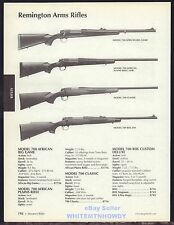 2006 REMINGTON Model 700 African Big Game, African Plains, Classic, BDL Rifle AD