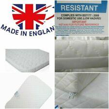 Crib Mattress 84x36x5// 84x37x5 Extra Thick Cushy Comfy Made in England A+Grade