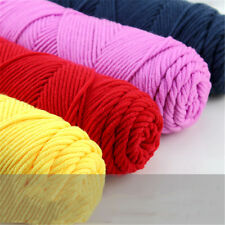 62 color Knitted Wool 100g Skeind Soft 8Ply cotton velvet Crochet Yarn for scarf