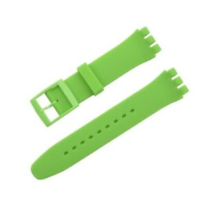 Soft Silicone Strap for Swatch Jelly Skin Classic Watch Band 12 16 17mm 19 20mm