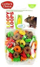 Hamster Treats LOOPS 50g SUGAR FREE Small Animals Rat etc Critter's Choice TASTY