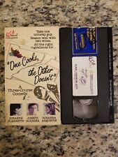 suzanne pleshette  ONE COOKS THE OTHER DOESN'T joseph bologna VHS VIDEOTAPE