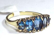London Blue Topaz Heating Fine Jewellery