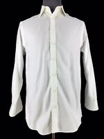 Charles Tyrwhitt Mens Non Iron Classic Fit White Dress Shirt Size 15.5-33