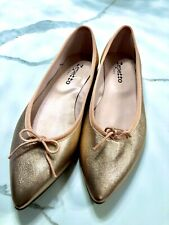 Repetto Metallic Rose Gold Size 38