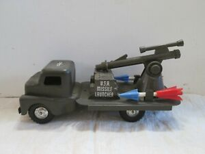Vintage Structo COE CAB USA Missile Launcher Truck
