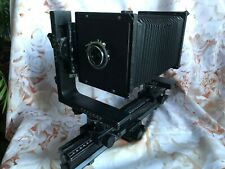 HORSEMAN 5 X 4 OPTICAL BENCH TYPE LARGE FORMAT MONORAIL CAMERA WITH 90MM LENS