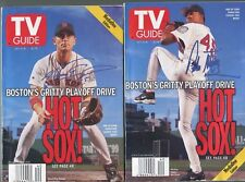 "Oct. 2-8, 1999 TV Guide ""Boston's Gritty Playoff Drive"" Pedro/Nomar Cover"