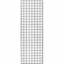 Only Hangers Commercial Grid Panels, 2' x 6' Black (Pack of 6)