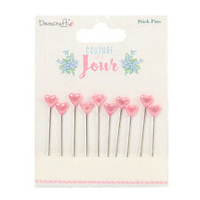 Dovecraft Couture du Jour Stick Pins for cards and crafts