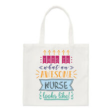 This Is What an Awesome infirmière Looks Like PETIT SAC FOURRE-TOUT - DRÔLE
