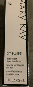Mary Kay TimeWise Ivory 6 Matte Wear Foundation Combination to Oily Skin
