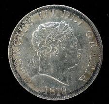 GRANDE BRETAGNE - GEORGES III - 1/2 COURONNE 1819