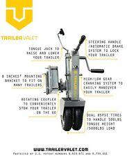 Trailer Valet 5X V211 Trailer Mover Jack Dolly 5,000 lb
