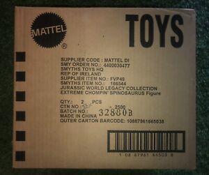 SPINOSAURUS Jurassic World Legacy Extreme Chompin Mattel Shipper Figure Toy