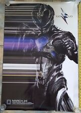 AUTHENTIC POWER RANGERS -  ORIGINAL UNUSED Movie Poster Double Sided 27x40