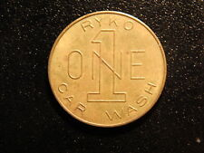 RYKO ONE CAR WASH TOKEN!  VV184XCX