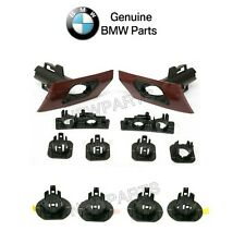 BMW F30 3 Series Pair Set of Front and Rear Parking Aid Sensor Support Sets OES