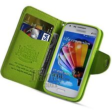 for Samsung Galaxy Core, i8260 i8262 Flip Leather Card Wallet Stand Case Cover
