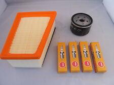 Renault Megane 1.6 16v Petrol Service Kit Oil + Air Filter Spark Plugs 1999-2002