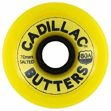 Cadillac BUTTERS Skateboard Wheels 70mm 80a YELLOW