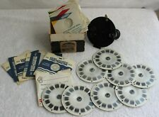 Vintage Sawyers Viewmaster With Talking Reels Lot