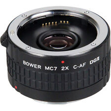 BOWER 2X C-AF MC7 Teleconverter tele-extender for Canon Rebel T4 T3 650D 550D T1
