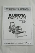 Kubota Operators Manual Tractor Front End Loader Fel Model La480 La480 C La680