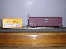 "Accurail #4001 Western Pacific ""B.C.Red"" 40' O.B.Wood Box Car #26091 Built-up"