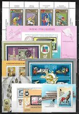 Hungary - Over Two Hundred All Different Souvenir Mini-Sheets - Mint
