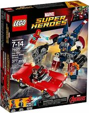 LEGO MARVEL SH 76077 - IRON MAN: DETROIT STEEL STRIKES - BNISB - MELB SELLER