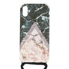 Mayumi iPhone teléfono móvil teléfono móvil caso cubierta de la cadena X collar XS caja mármol Ilumi