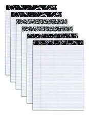 """Tops 20497 Fashion Perforated Writing Pads,  8-1/2"""" x 11-3/4"""", Black and White"""
