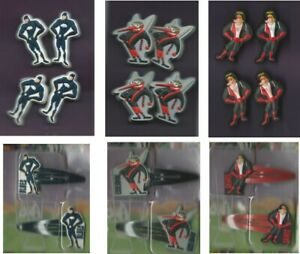 AFL Team Mascot Hair Accessories - Bobble Ties/Hair Clips - AFL Merchandise