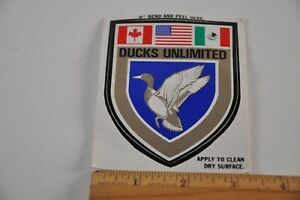 1986 Ducks Unlimited Sticker Member Sticker Vintage North America Waterfoul