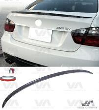 BMW 3 SERIES E90 M3 REAL CARBON FIBER BOOT TRUNK LIP SPOILER