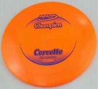NEW Champion Corvette 170g Driver Orange Innova Disc Golf at Celestial Discs