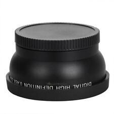 58mm 0.45X Weitwinkelobjektiv für Canon EOS 1000D 1100D 500D Rebel T1i T2i T3i