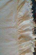 Rare Vintage Ralph Lauren Ivory Patience Bromley Eyelet King Size Duvet cover