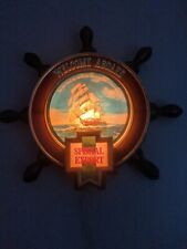 B. VTG Heilemans Special Export Nautical Lighted Beer Ship Wheel Sign Old Style
