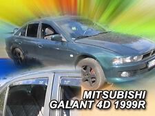 DMI23366 MITSUBISHI GALANT 4DOOR 1997-2003 WIND DEFLECTORS 4pc HEKO TINTED