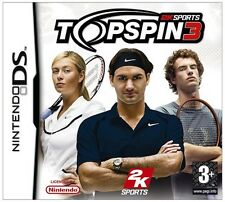 Top Spin 3 Nintendo NDS DS Lite DSi XL Brand New