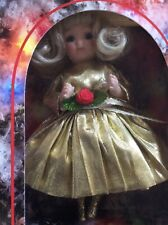 Vtg 95 Marie Osmond Fine Porcelain Christmas Greeting Card Doll Blonde Ltd Ed