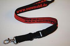 Www.euromobil.de Lanyard/Lanyard/keyholder NEW!!!