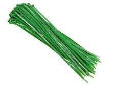 60 Piece Nylon Cable Ties Green