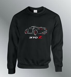 Sweat Shirt 370Z Auto Sweatshirt Sweater Pullover Line